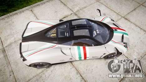 Pagani Huayra 2013 para GTA 4 visión correcta