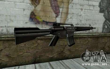 Retextured M4 para GTA San Andreas segunda pantalla
