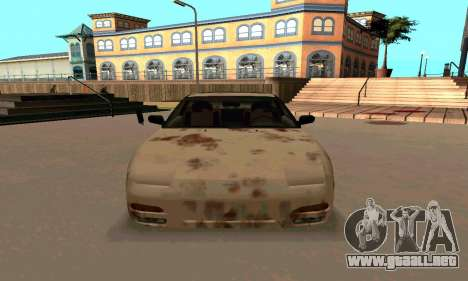Nissan 240SX Rusted para GTA San Andreas vista hacia atrás