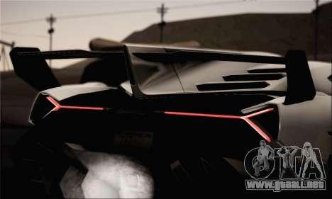 Lamborghini Veneno LP750-4 White Black 2014 para la visión correcta GTA San Andreas