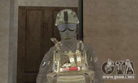 Spec Ops para GTA San Andreas segunda pantalla