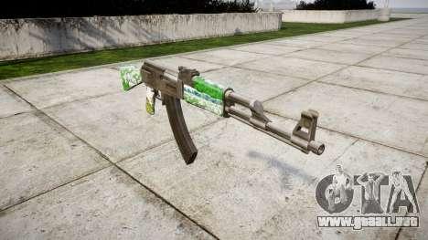 El AK-47 Ganado para GTA 4