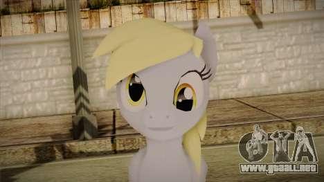 Derpy Hooves from My Little Pony para GTA San Andreas tercera pantalla