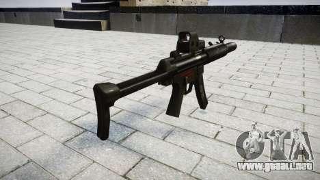 Pistola de MP5SD EOTHS FS para GTA 4 segundos de pantalla