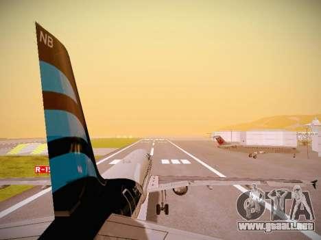 Airbus A320-214 Afriqiyah Airways para el motor de GTA San Andreas