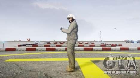 Piloto de combate para GTA 4 segundos de pantalla