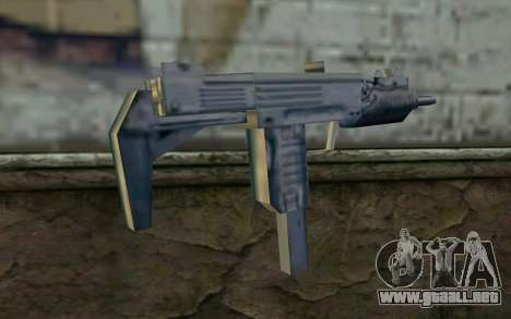 MP5 from GTA Vice City para GTA San Andreas segunda pantalla