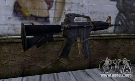 M4 from Far Cry para GTA San Andreas segunda pantalla