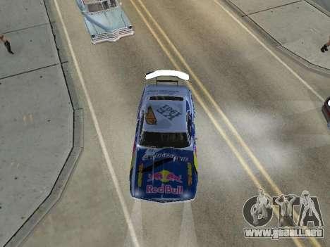 Chevrolet Camaro SS RedBull para la visión correcta GTA San Andreas