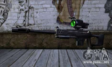 Rifle de francotirador (C&C: Renegade) para GTA San Andreas