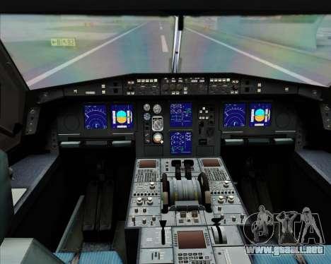 Airbus A340-300 All Nippon Airways (ANA) para GTA San Andreas interior