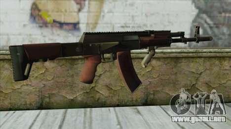 AK47 from Battlefield 4 para GTA San Andreas segunda pantalla