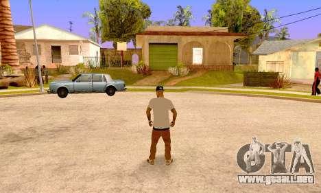 Varios Los Aztecas para GTA San Andreas sucesivamente de pantalla