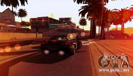 ENB para equipos débiles para GTA San Andreas octavo de pantalla