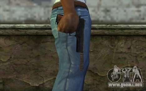Silenced Colt45 para GTA San Andreas tercera pantalla