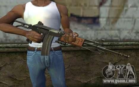 Galil v2 para GTA San Andreas tercera pantalla