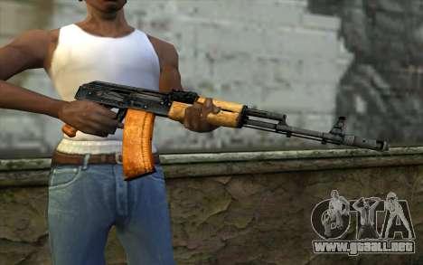 AKC74 Sin Tope para GTA San Andreas tercera pantalla