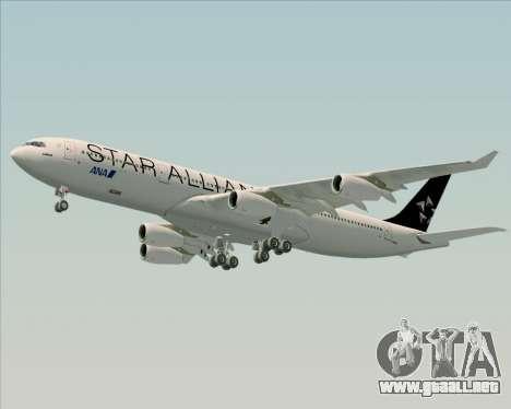 Airbus A340-300 All Nippon Airways (ANA) para visión interna GTA San Andreas