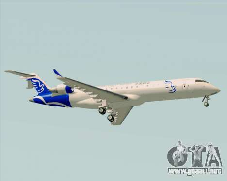 Embraer CRJ-700 China Express Airlines (CEA) para la visión correcta GTA San Andreas