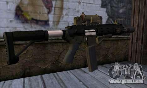Carbine Rifle from GTA 5 v1 para GTA San Andreas segunda pantalla