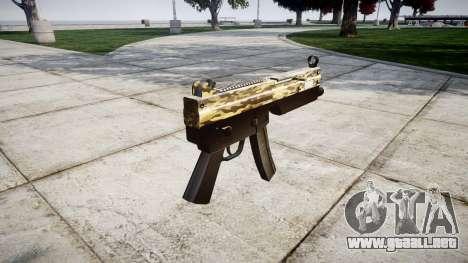Subametralladora MP5 Desierto para GTA 4 segundos de pantalla