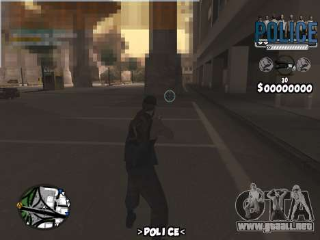 C-Hud Police para GTA San Andreas tercera pantalla