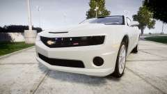 Chevrolet Camaro SS [ELS] Unmarked no side ligh para GTA 4