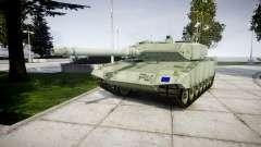 Leopard 2A7 EU Green para GTA 4