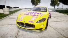 Maserati GranTurismo S 2010 PJ 3 para GTA 4