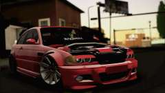 BMW M3 Coupe Tuned Version Burnout para GTA San Andreas