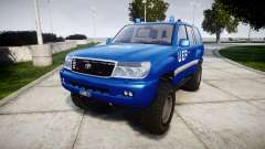 Toyota Land Cruiser 100 UEP blue [ELS] para GTA 4