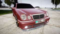 Mercedes-Benz W210 E55 2000 AMG Vossen VVS CV3 para GTA 4