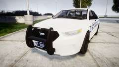 Ford Taurus 2014 [ELS] Liberty County Sheriff para GTA 4