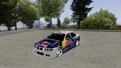 BMW E36 Red Bull para GTA San Andreas