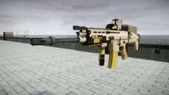 Máquina FN CICATRIZ-L Mc 16 de destino icon3 para GTA 4