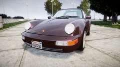 Porsche 911 (964) Targa para GTA 4