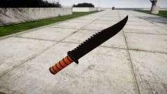 La lucha cuchillo Ka-Bar