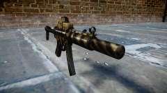 Pistola de MP5SD EOTHS FS c de destino