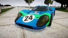Ford GT40 Mark IV 1967 PJ Equipe Bouchard 24 para GTA 4