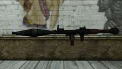 New Rocket Launcher para GTA San Andreas