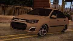 VAZ 2190 Lada Kalina-Subvención para GTA San Andreas