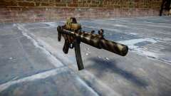 Pistola de MP5SD EOTHS CS c de destino para GTA 4