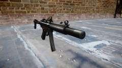 Pistola de MP5SD DRS FS b de destino
