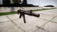 Alemán subametralladora HK MP5SD3