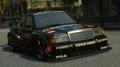 Mercedes-Benz 190E Evo2 GT3 para GTA 4