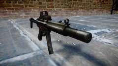 Pistola de MP5SD EOTHS FS b de destino