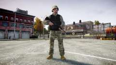 Medal of Honor LTD Camo1 para GTA 4