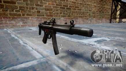 Pistola de MP5SD DRS CS b de destino para GTA 4
