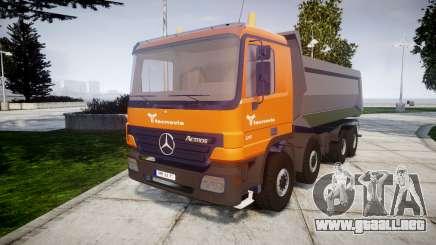 Mercedes-Benz Actros tecnovia para GTA 4