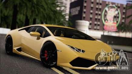 Lamborghini Huracan LP610-4 2015 para GTA San Andreas